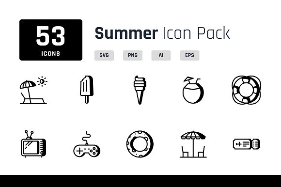 Summer Iconpack