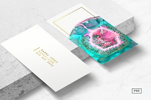 Agate Business Card Template