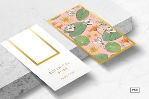Vintage Botanicals Business Card