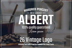 26 Vintage Logo Vol.2