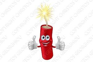 Dynamite or firecracker man