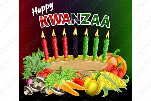 Happy Kwanzaa Sign