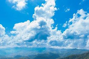 panorama mountain complex Sky