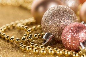 Closeup of christmas background