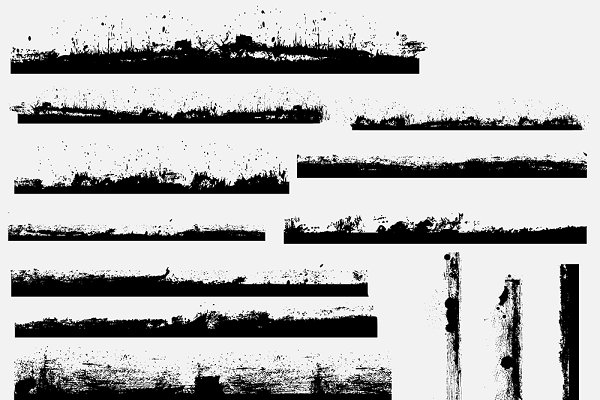 Grunge Borders Brushes