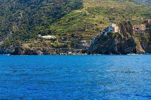 Summer Manarola coast, Cinque Terre