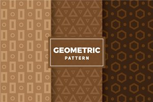 Geometric Vector Patterns #110
