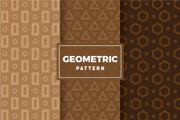 Geometric Vector Patterns #110