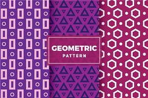 Geometric Vector Patterns #108