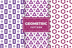 Geometric Vector Patterns #107