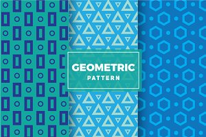Geometric Vector Patterns #106