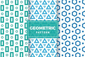 Geometric Vector Patterns #105