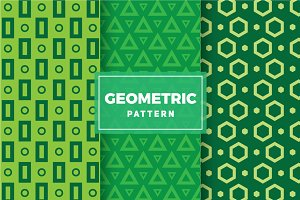 Geometric Vector Patterns #104