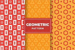 Geometric Vector Patterns #102