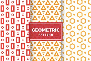 Geometric Vector Patterns #101