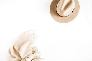 Female pastel accessories