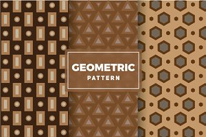 Geometric Vector Patterns #120