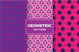 Geometric Vector Patterns #118