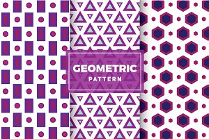 Geometric Vector Patterns #117