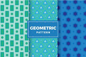Geometric Vector Patterns #116