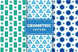 Geometric Vector Patterns #115