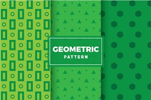 Geometric Vector Patterns #114