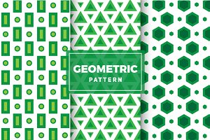 Geometric Vector Patterns #113
