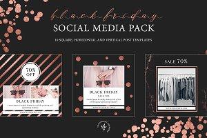 Black Friday | Social Media Pack