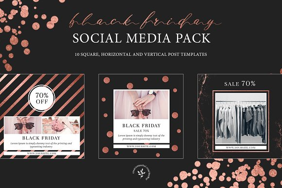 Black Friday | Social Media Pack