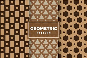 Geometric Vector Patterns #130