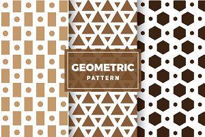 Geometric Vector Patterns #129