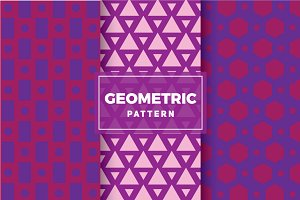 Geometric Vector Patterns #128