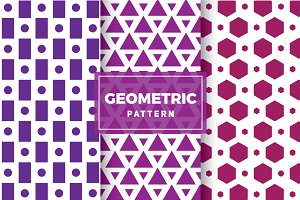 Geometric Vector Patterns #127