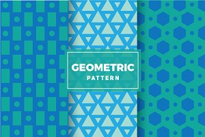 Geometric Vector Patterns #126