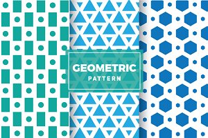 Geometric Vector Patterns #125