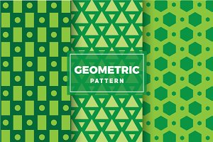 Geometric Vector Patterns #124