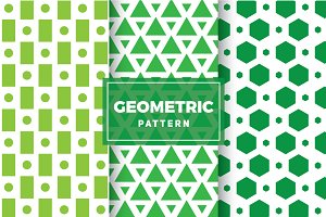 Geometric Vector Patterns #123