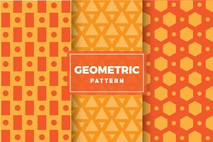 Geometric Vector Patterns #122