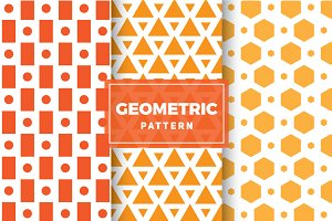 Geometric Vector Patterns #121