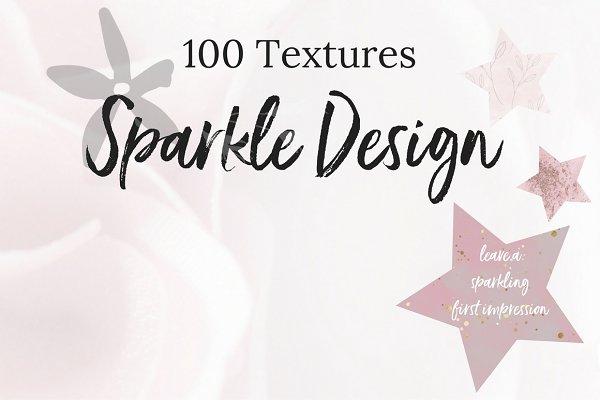 The sparkle texture bundle