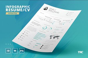 Infographic Resume/Cv Template Vol.8