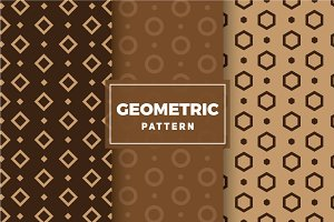 Geometric Vector Patterns #140