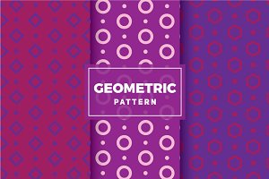 Geometric Vector Patterns #138