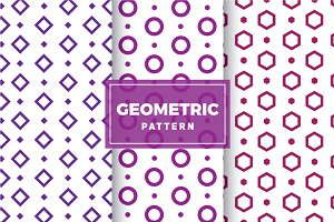Geometric Vector Patterns #137