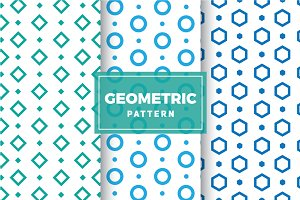 Geometric Vector Patterns #135