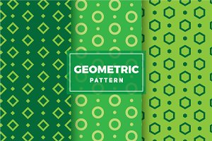 Geometric Vector Patterns #134