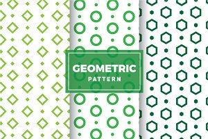 Geometric Vector Patterns #133