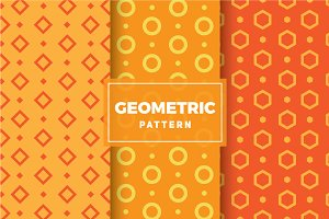 Geometric Vector Patterns #132