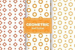 Geometric Vector Patterns #131