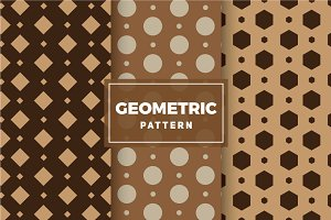 Geometric Vector Patterns #150
